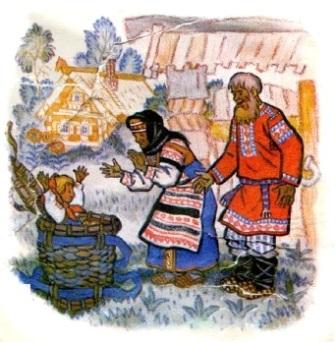 Зимовье русская народная сказка с картинками