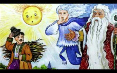 Сказка Мороз, Солнце и Ветер