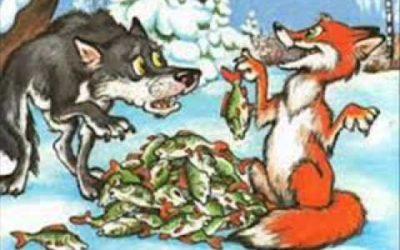 Сказка Лисичка-сестричка и волк