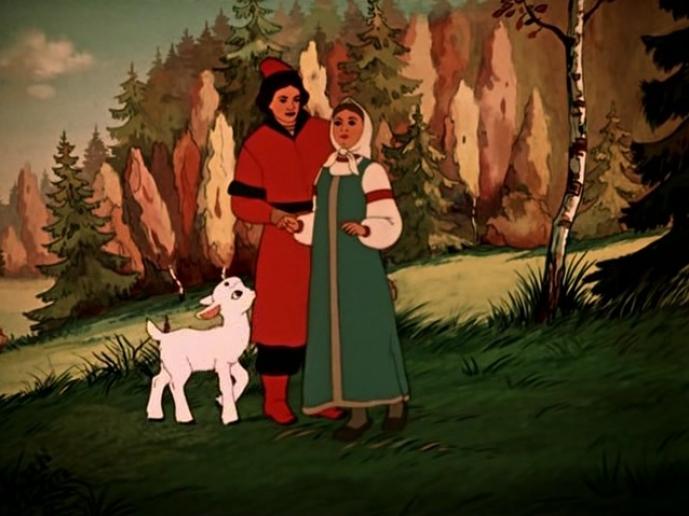 Картинки сказки сестрица аленушка и братец иванушка