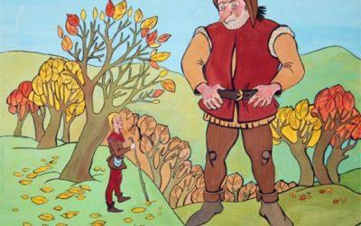 Сказка Молодой великан