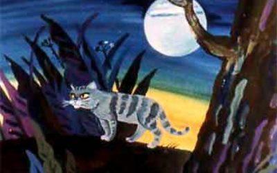 Сказка Кошка, гулявшая сама по себе