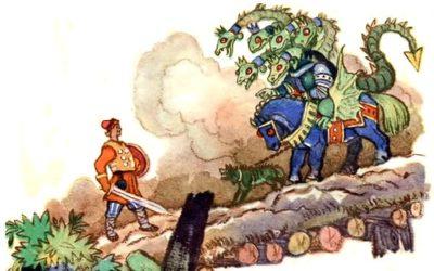 Сказка Иван — крестьянский сын и чудо-юдо