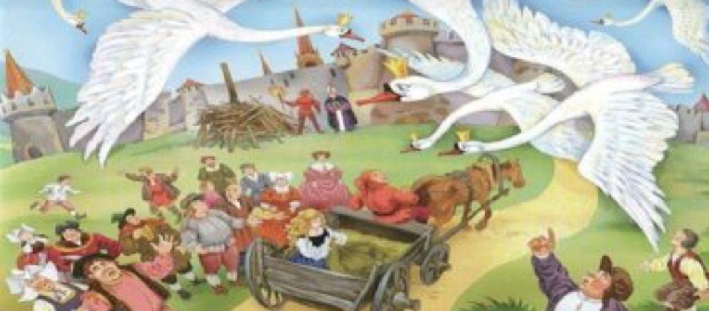 Сказка Дикие лебеди